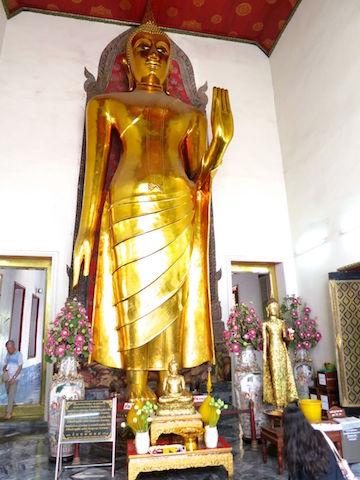 Stojący Budda Wat Pho Bangkok