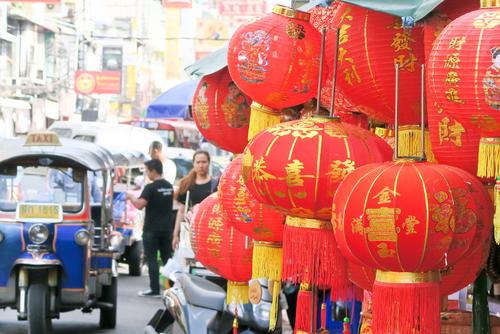 Spacer po Chinatown Bangkok podczas zwiedzania Bangkoku