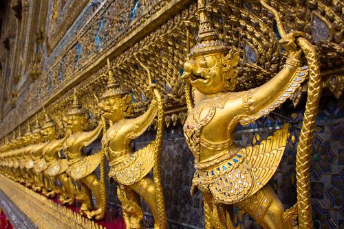 Emerald Buddha Bangkok Świątynia Szmaragdowego Buddy