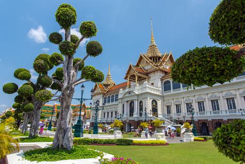 Grande Palace  Wielki Pałac Królewski - jedna z ważniejszych atrakcji Bangkoku