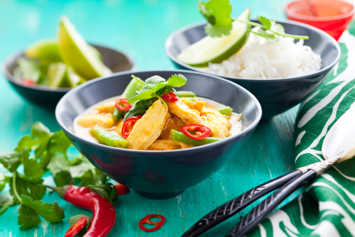 tajski lunch w Bangkoku