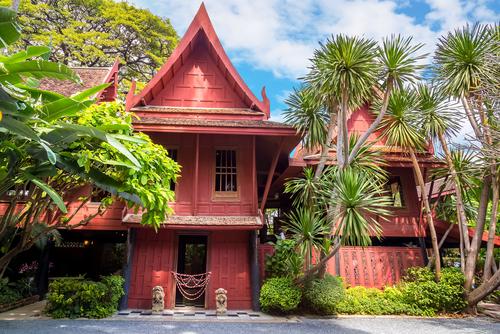 Jim Thompson House Bangkok- piękny dom zbudowany w tajskim stylu