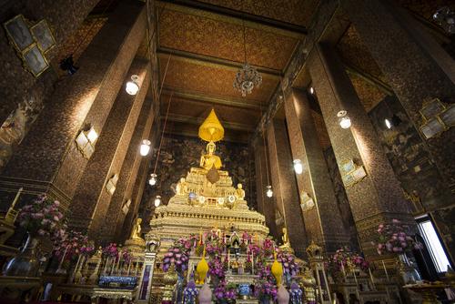 Główny Bot Wat Pho Bangkok