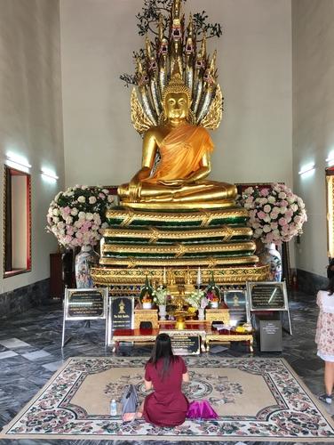 Siedzący Budda Wat Pho Bangkok