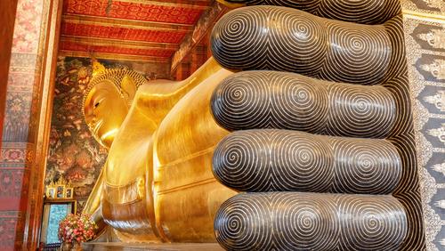 Wat Pho Bangkok Świątynia Leżącego Buddy