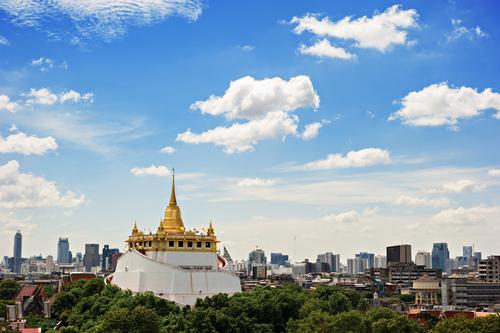 Golden Mount Bangkok Wat Saket  Złote Wzgórze
