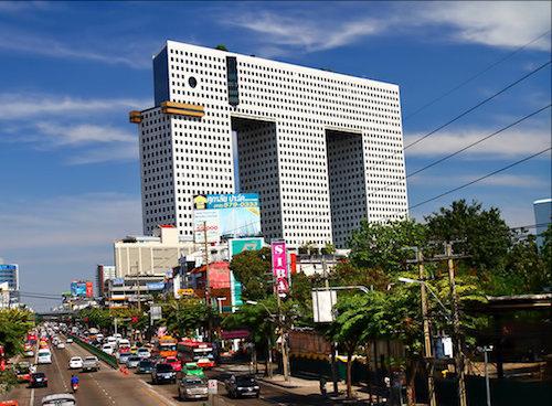 Budynek w Bangkoku w kształcie słonia