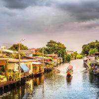 Rejs po kanałach Thonburi