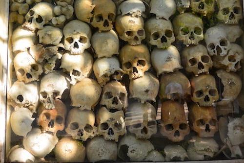 Killing Fields  pola śmierci w Kambodży