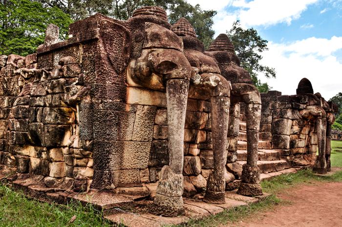 Terrace of The Elephants Taras Słoni
