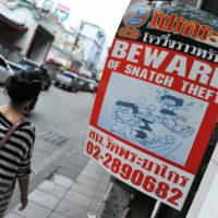 Bezpieczeństwo w Tajlandii